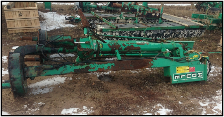"Houle 8ft. Super Pump. 6"" discharge, Stationary, 1,000 PTO."