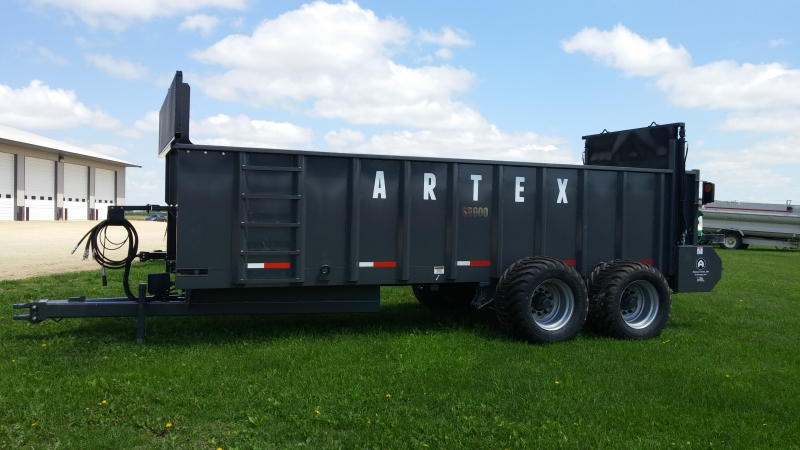 Artex SB600 Spreader by Redwood Metalworks