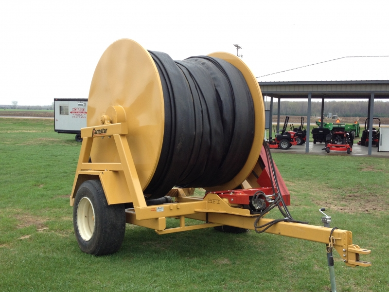 2013 Bazooka Farmstar Hose Reel and hose.